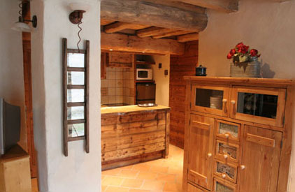 Confort renovation for Renovation cuisine rustique